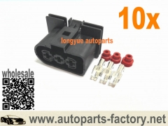 longyue 10set Radiator Fan Connector Plugs 1J0 906 233 Audi VW Jetta Golf GTI MK4