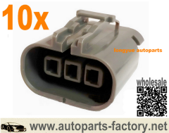 longyue 10pcs Nissan Ignition Coil Pack Connectors 300zx 90-96 Coilpack Connector Spark Plug