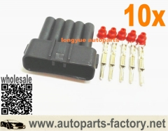 longyue 10set 5 Pin Male MAF sensor connector Mass Air Flow Engine Plug Fit Toyota Lexus is3