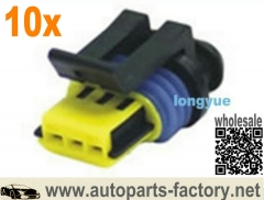 longyue 10kit 3 Pin/Way injector connector plug