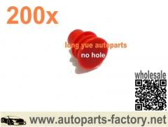 longyue 200pcs Wire seals for Wiring harness equivalent to TYCO / AMP /Yazaki /Sumitomo ….etc