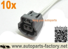 longyue 10pcs Ford 6.0 6.0L Powerstroke Crankshaft Position Sensor CPS Connector Pigtail 12""