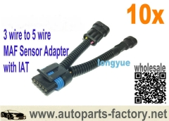 LS3 LS7 5 Wire MAF Sensor Wiring Connector Pigtail GM M Air Flow  Maf Sensor Wire Harness on