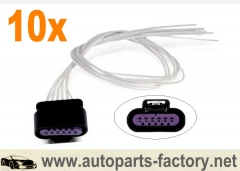 longyue 10pcs Fuel Sender Connector Pigtail Fit Chevy Equinox,GMC Terrain,Buick Lucerne,Cadillac 12""