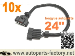 longyue 10pcs MAF Sensor Extension Harness - DENSO MAF Sensor 24