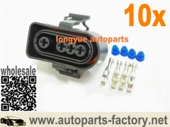 longyue 10kit VW and Audi A8 A6 3A0973204 Oxygen O2 Sensor Connector 3A0 973 204