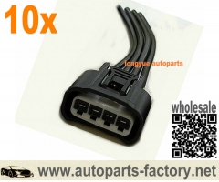longyue 10pcs Ignition Coil Plug Harness End 90980-11885 Toyota Lexus Camry Corolla Rav4
