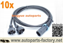longyue 10pcs Knock Sensor Extension Wiring Harness LS1/LS6 to LS2 Conversion Adapter GM