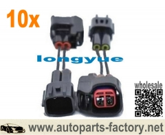 longyue 10pcs Injector Adapter - Nissan Late Style (VG30-SR-KA-RB25) to ID1000/725/850/1300 & EV14