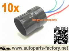 10pcs Male Nipondenso Alternator Repair Plug Connector Fit Toyota Honda Lexus chevrolet  6""