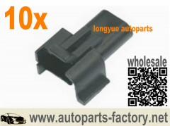 longyue 10pcs 2 Way male TBI/TPI/LT1 HEI Ignition Coil Repair Connector universal 1985 Up