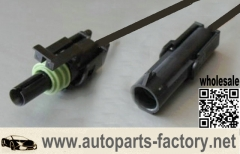Camaro/Firebird Coolant Temperature Sensor Connector Pigtail TPI TBI on lt1 engine wiring, 1996 roadmaster lt1 wiring, ls 5.3 swap alternator wiring, 95 camaro 5 7 ignition wiring, lt1 swap wiring diagram,