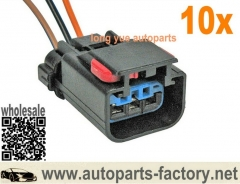 10pcs 3 way AC Delco #S738 MoPar Crank Cam Crankshaft Sensor and Ignition Coils Connector Pigtail 6""