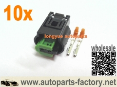 10set VW Jetta Rabbit GTI MK5 heated washer nozzle connetor 05-10 - 8E0 973 202