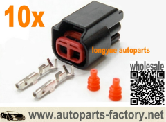 longyue 10kit Ford Fairlane Falcon LTD BA BF 5.4L 24v Ignition Coil IGC connector