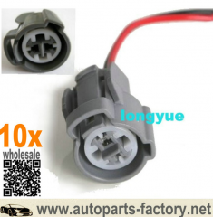 longyue 10pcs connector plug pigtail VTEC pressure switch & Knock sensor 00 B20Z