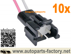longyue 10pcs HEI Ignition Coil Repair Connector GM 1985 Up Repair Plug Wiring harness 6""