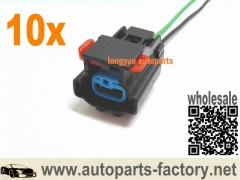 10pcs 03 Chrysler Town Country 3.3 Vapor Canister Purge Valve Solenoid PA66-GF33 Pigtail Wires 6