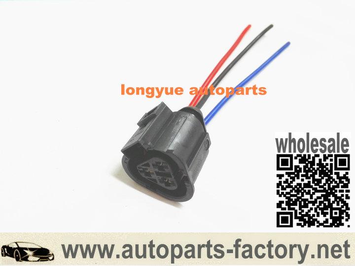 longyue 10pcs 3 way 1J0973203 Audi TT Mk1/8N VW Jetta Radiator Coolant Temp  Sensor connector Plug 1J0 973 203
