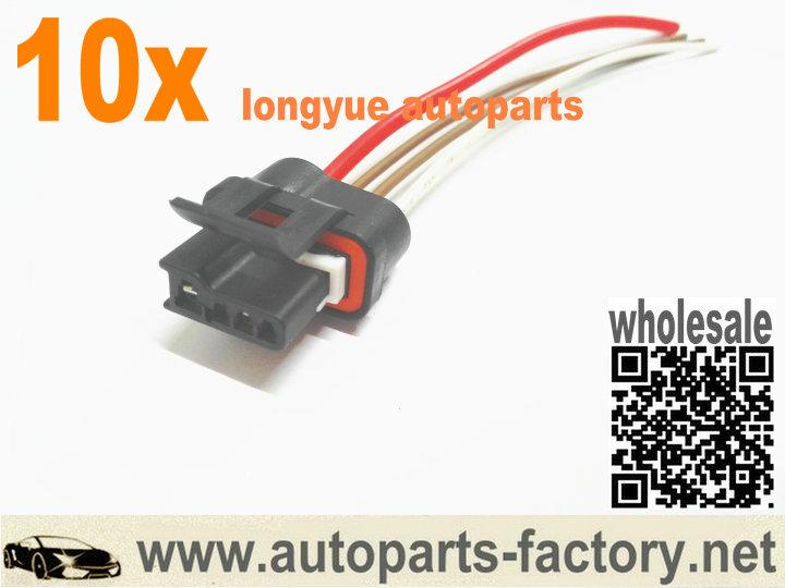 Longyue 1995 Chevrolet Camaro Voltage Regulator Connector Smp Wire Harness Plug 6 U0026quot