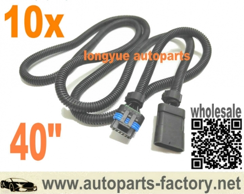longyue 10pcs 6.5L turbo diesel FSD PMD relocation extension harness cable for cooler plate 40""