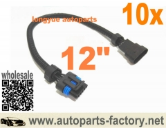 longyue 10pcs GM LS2 5-Wire MAF Extension Harness 12""