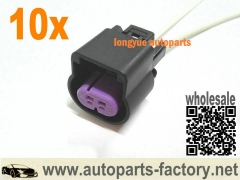 longyue 10set 2pin connector pigtail fit Oldsmobile Bravada 2002-2004, Wheel Speed Sensor 12