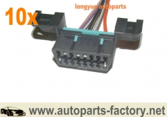 longyue 10pcs GM LS1 LT1 OBDII OBD2 Wiring Harness Connector Pigtail 96+ Camaro Corvette