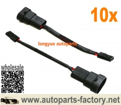 longyue 10pcs 9005/9006 High Beam Bi-Xenon Magnetic Hi/Lo HID Adapters For Headlights Retrofit 6""