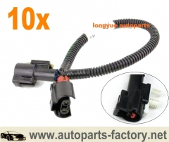longyue 10pcs OEM Fog Light Wiring Harness 2006-2011 Mercury Grand Marquis #6W3Z-15A211-AA 12""