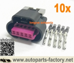 longyue 10set GM Delphi / Packard - 5 way GT 150 3.5mm centerline MAF Sensor Connector Corvette LS1 LS2 LS6 GM Mass Air Flow