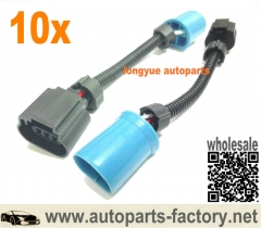 longyue 10pcs 9007 9004 Hb5 To 9008 H13 Conversion Harness Adaptor Connector Headlight Plugs 6""