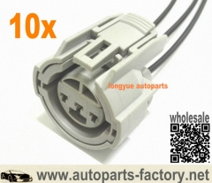 longyue 10pcs Throttle Position Sensor Pigtail Wire Plug ( TPS ) For Acura & Honda 12""