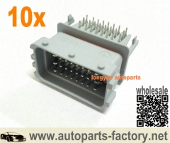 longyue 10kit FCI 24Pins ECU Male Connectors & Pins Gray
