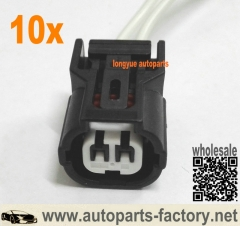 longyue 10pcs Honda acura civic element pilot accord IAT ECT VTEC K Series connector plug rsx ep3 s2000 8""