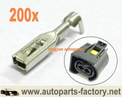 200pcs Terminals for 2 way Mercedes Sprinter Diesel Injector Connector ( Bosch Common Rail Injector Plug )