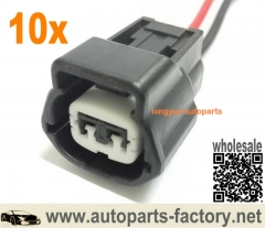 longyue 10pcs Ballast Power Plug Connector Harness Wire for Matsushita Xenon HID Ballast 6""