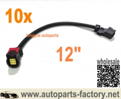 longyue 10pcs 4 way O2 Sensor Wire Harness Fits 09-14 Ram Truck Dodge Quad Crew Ram 1500 Truck 5.7L 12""