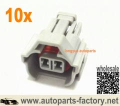 longyue 10Kit Female Denso Fuel Injector Connector Kit