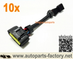 longyue 10pcs Mass Air Meter Wiring Adapter -- 86-95 Mustang conversion to 05-10 Slot Style MAF Sensor