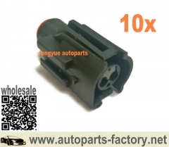 longyue 10set Ford 2 Pin Radiator Fan Switch Repair Connector Kit Sierra Cosworth Zetec Escort Focus