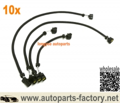 longyue 10kit Chrysler 5.7L, 6.1L, & 6.4L- O2 Sensor Extension Harness Kit 2-18in and 2-6in