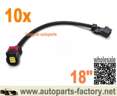 longyue 10pcs Universal Dodge/Chrysler 18 Inch O2 Sensor Extension Jeep Grand Cherokee V6 2012-2014