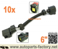 "longyue 10pcs 6"" Chrysler 5.7L, 6.1L, & 6.4L-Jeep Grand Cheokee V6- O2 Sensor Extension Harness"