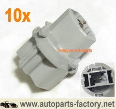 longyue 10pcs Genuine Rear Back Up Taillight Trunk Lid Lamp Socket Mazda #G14S513B7,BN8R513G0