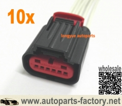 longyue 10pcs Ford Transit Mk7 TDCI MAF A Air Mass Sensor Connector Wiring Loom 6C11-12B579-AA 12""