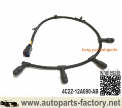 longyue 2004-2010 Ford 6.0L Diesel Glow Plug Harness Extension Right RH Side 4C2Z-12A690-AB
