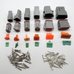 longyue 10set Deutsch DT06/DT04 2/3/4/6/8p Engine Gearbox Waterproof DT Electrical Connector