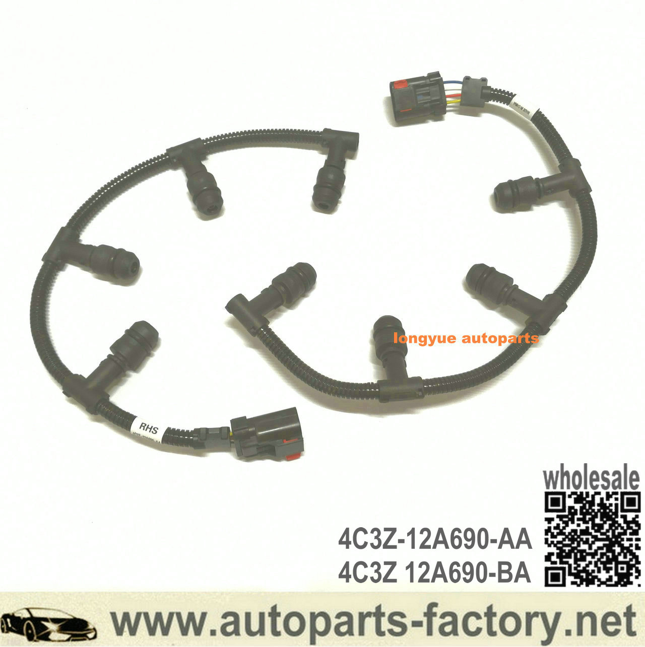 Ford Super Duty Excursion 6.0L Diesel EBP ICP Sensor Connector Kit 5C3Z-12224-A