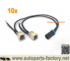 longyue 10pcs Knock Sensor Conversion Adapter LS1 Harness to Dual Wire Knock Sensors LS3